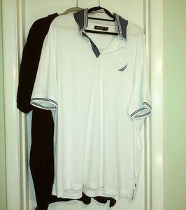 3 XL T Nautica shirt pair